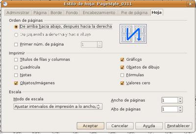 Ajustar impresión de una hoja de cálculo en OpenOffice | vicrh@web
